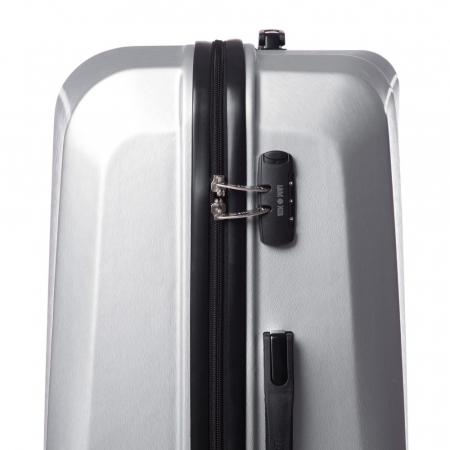 Troler mediu SWANK argintiu 67 cm [2]