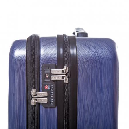 Troler mic ALCAZAR albastru 55 cm [3]