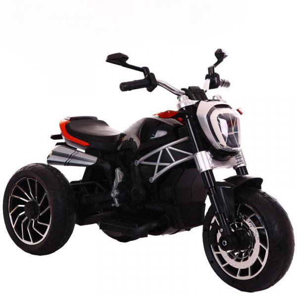 Motocicleta electrica cu 3 roti Premier Retro, 6V, 2 motoare, MP3, negru 0