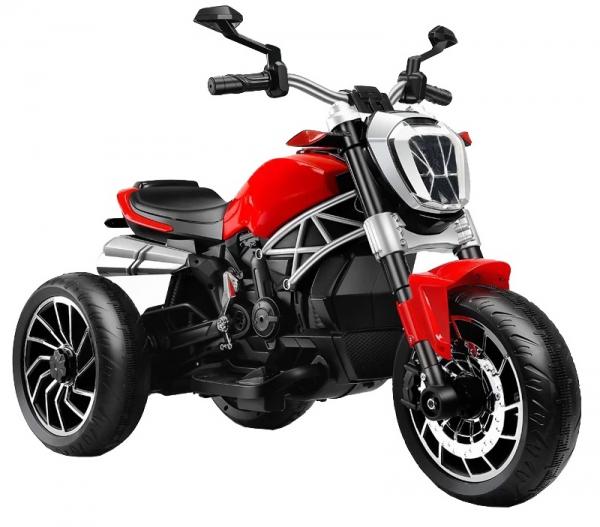 Motocicleta electrica cu 3 roti Premier Retro, 6V, 2 motoare, MP3, rosu 0