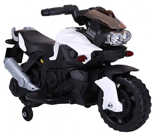 MMotocicleta electrica cu 2 roti Premier Rider, 6V, muzica, roti ajutatoare 0
