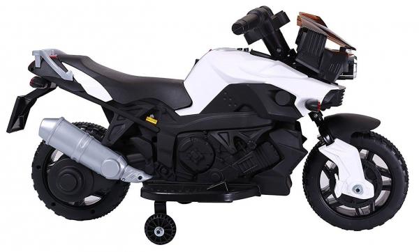 MMotocicleta electrica cu 2 roti Premier Rider, 6V, muzica, roti ajutatoare 1