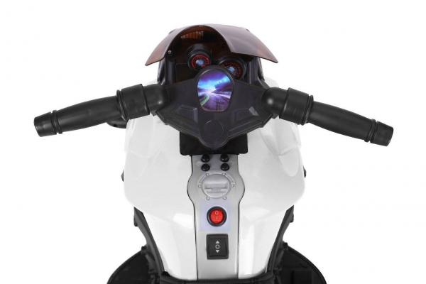 MMotocicleta electrica cu 2 roti Premier Rider, 6V, muzica, roti ajutatoare 4