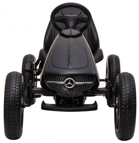 Kart Premier Mercedes cu pedale pentru copii, roti cauciuc Eva 5