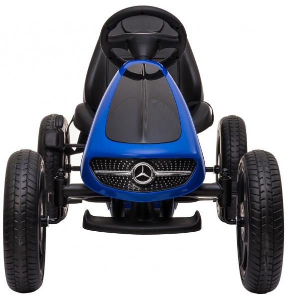 Kart Premier Mercedes cu pedale pentru copii, roti cauciuc Eva 6