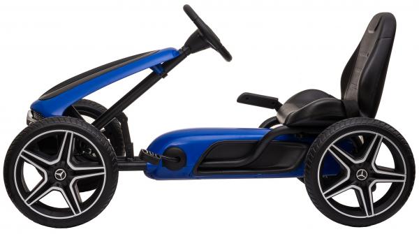 Kart Premier Mercedes cu pedale pentru copii, roti cauciuc Eva 1