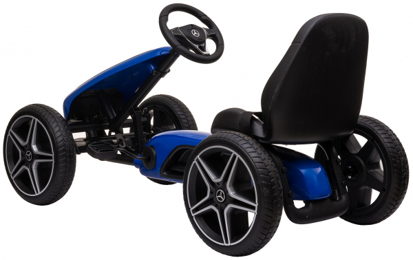 Kart Premier Mercedes cu pedale pentru copii, roti cauciuc Eva 2