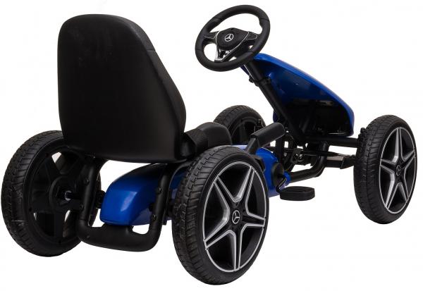 Kart Premier Mercedes cu pedale pentru copii, roti cauciuc Eva 3