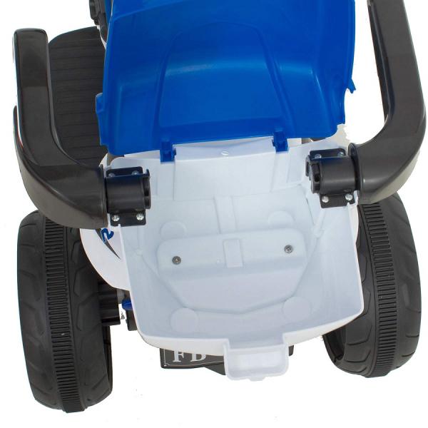 Motocicleta electrica cu 3 roti Premier HP2, 6V, 2 motoare, MP3, albastru 7