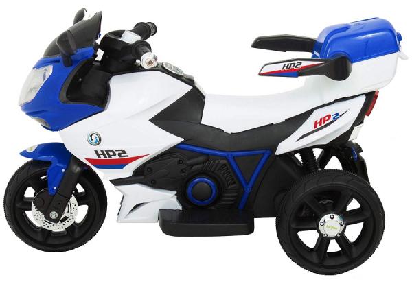 Motocicleta electrica cu 3 roti Premier HP2, 6V, 2 motoare, MP3, albastru 4
