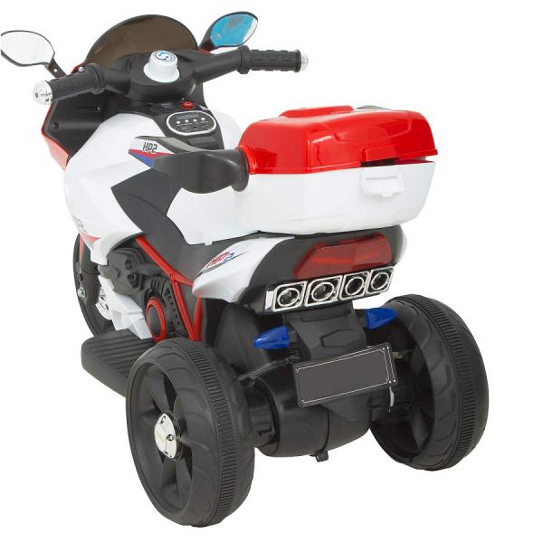 Motocicleta electrica cu 3 roti Premier HP2, 6V, 2 motoare, MP3, rosu [1]