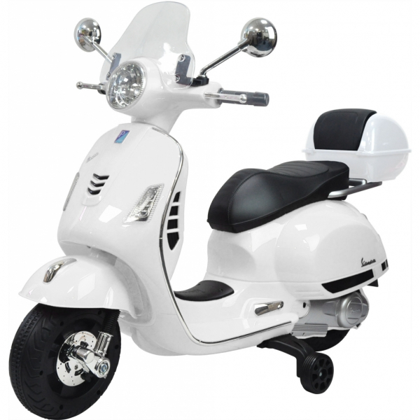 Scooter electric cu 2 roti Premier Vespa GTS Super, 12V, MP3, roti ajutatoare 0
