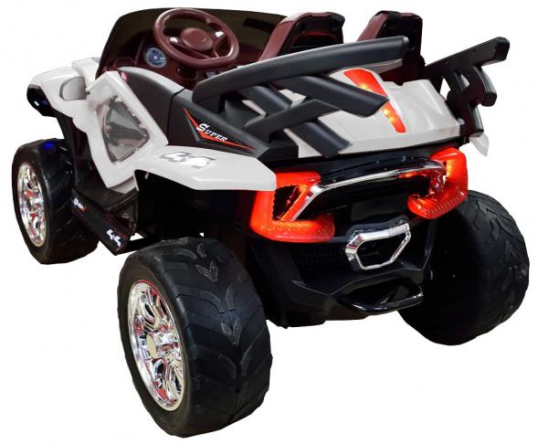 Masinuta electrica 4x4 Premier D-Max, 12V, roti cauciuc EVA, scaun piele ecologica 1