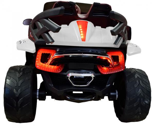 Masinuta electrica 4x4 Premier D-Max, 12V, roti cauciuc EVA, scaun piele ecologica 2