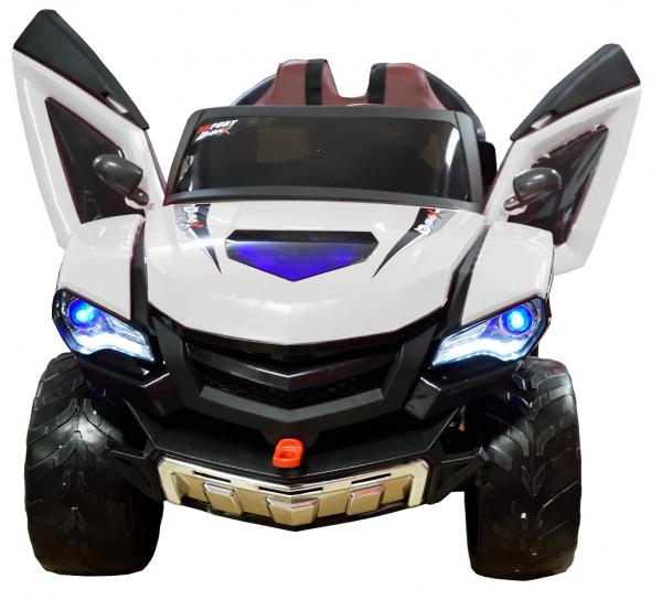 Masinuta electrica 4x4 Premier D-Max, 12V, roti cauciuc EVA, scaun piele ecologica 10