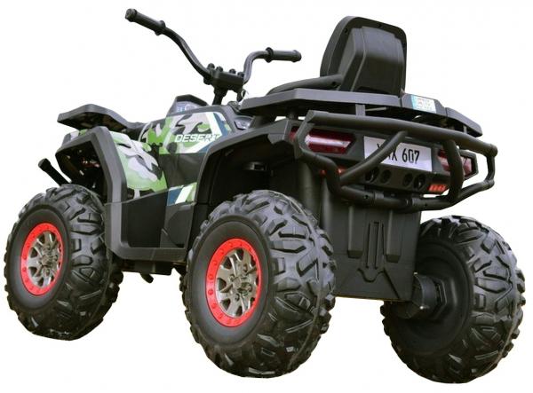 ATV electric 4x4 Premier Desert, 12V, roti cauciuc EVA, MP3 4