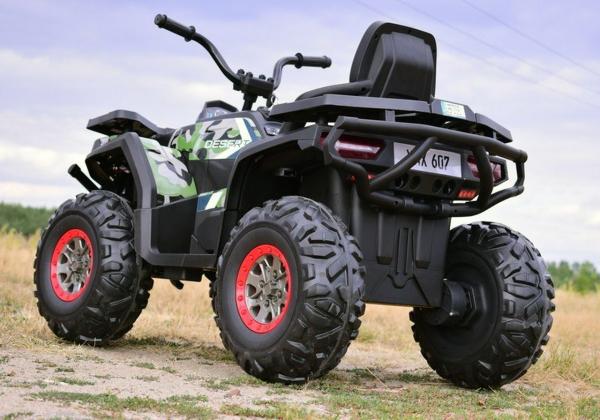 ATV electric 4x4 Premier Desert, 12V, roti cauciuc EVA, MP3 8