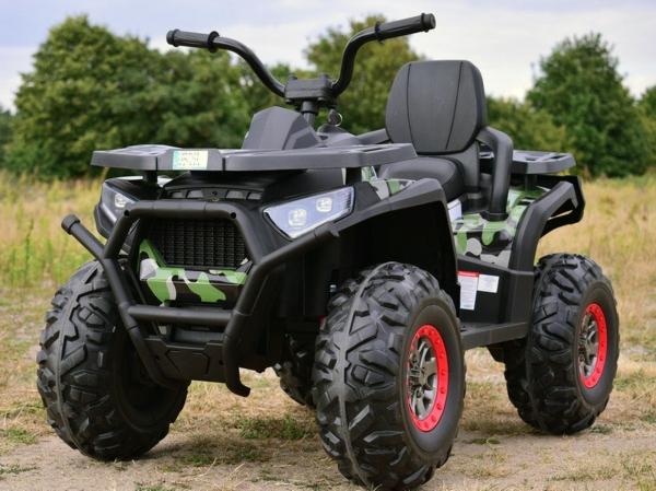 ATV electric 4x4 Premier Desert, 12V, roti cauciuc EVA, MP3 6