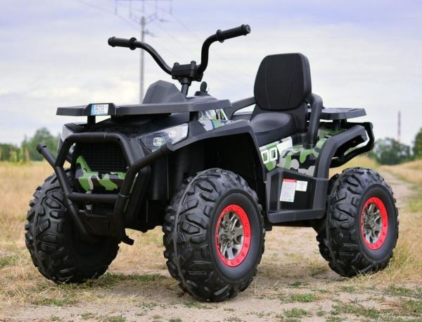 ATV electric 4x4 Premier Desert, 12V, roti cauciuc EVA, MP3 7