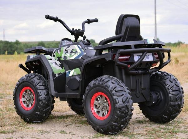 ATV electric 4x4 Premier Desert, 12V, roti cauciuc EVA, MP3 9