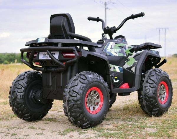 ATV electric 4x4 Premier Desert, 12V, roti cauciuc EVA, MP3 10