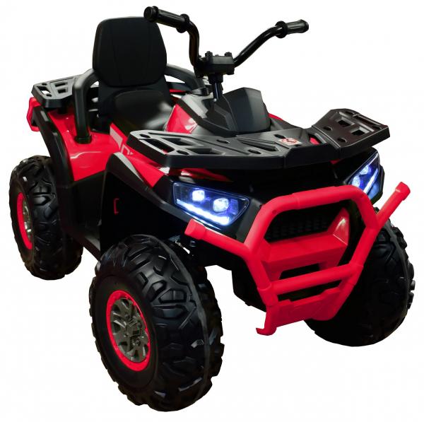 ATV electric 4x4 Premier Desert, 12V, roti cauciuc EVA, MP3, rosu [2]
