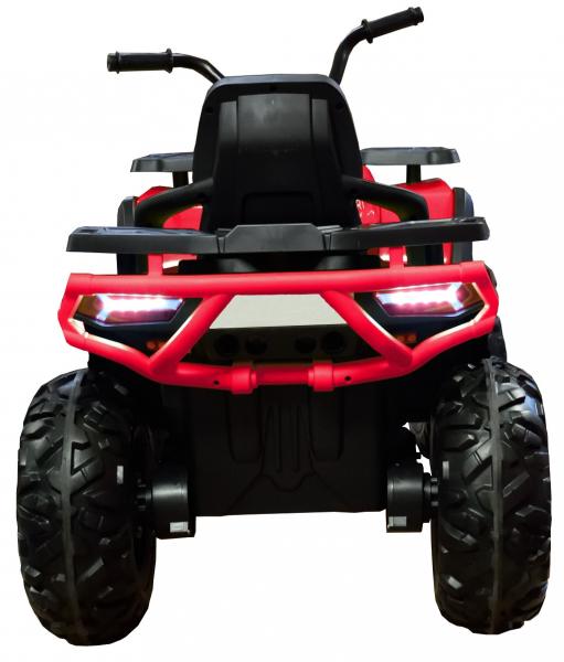ATV electric 4x4 Premier Desert, 12V, roti cauciuc EVA, MP3, rosu [6]