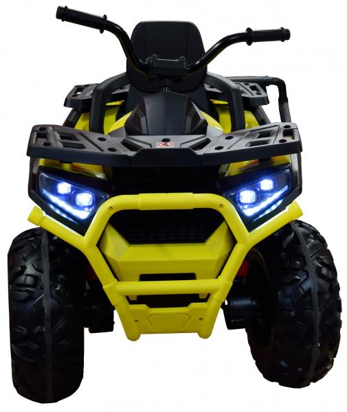 ATV electric 4x4 Premier Desert, 12V, roti cauciuc EVA, MP3 3