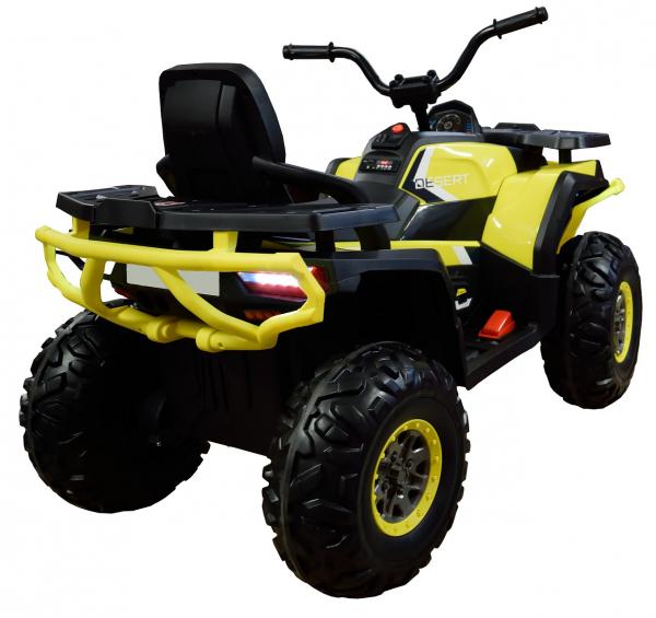 ATV electric 4x4 Premier Desert, 12V, roti cauciuc EVA, MP3 5