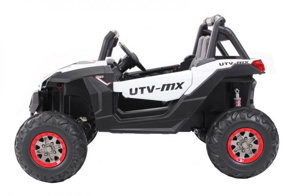 Buggy electric pentru 2 copii Premier 4x4 Superstar, cu 2 baterii, roti cauciuc EVA, scaun piele ecologica 19