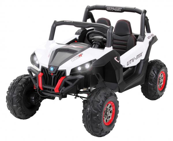 Buggy electric pentru 2 copii Premier 4x4 Superstar, cu 2 baterii, roti cauciuc EVA, scaun piele ecologica 21