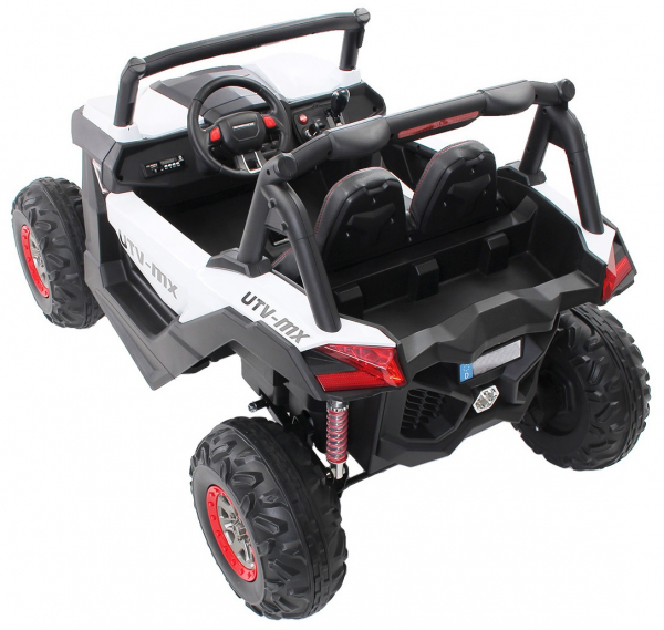 Buggy electric pentru 2 copii Premier 4x4 Superstar, cu 2 baterii, roti cauciuc EVA, scaun piele ecologica 23