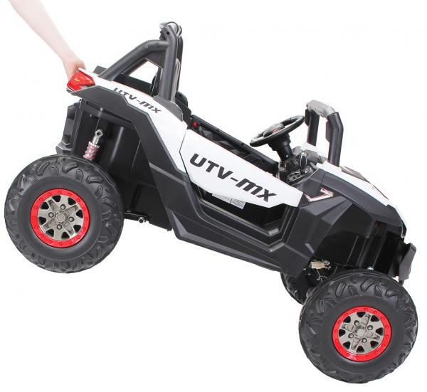 Buggy electric pentru 2 copii Premier 4x4 Superstar, cu 2 baterii, roti cauciuc EVA, scaun piele ecologica 20