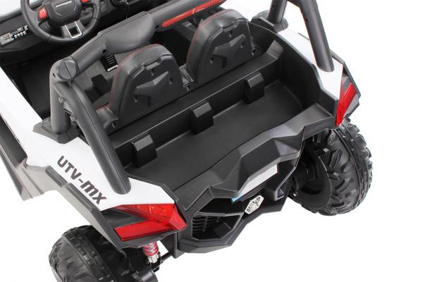 Buggy electric pentru 2 copii Premier 4x4 Superstar, cu 2 baterii, roti cauciuc EVA, scaun piele ecologica 22