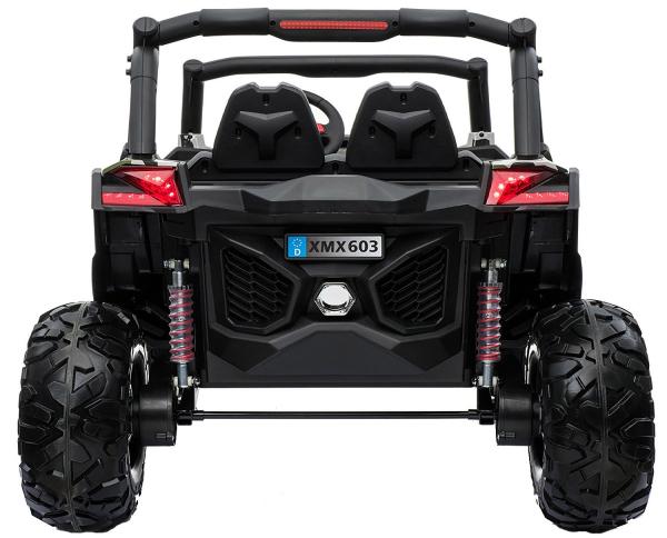 Buggy electric pentru 2 copii Premier 4x4 Superstar, MP4, cu 2 baterii, roti cauciuc EVA, scaun piele ecologica 25