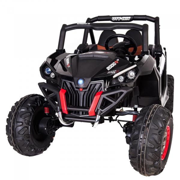 Buggy electric pentru 2 copii Premier 4x4 Superstar, MP4, cu 2 baterii, roti cauciuc EVA, scaun piele ecologica 39