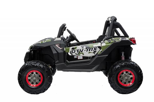 Buggy electric pentru 2 copii Premier 4x4 Superstar, MP4, cu 2 baterii, roti cauciuc EVA, scaun piele ecologica 16