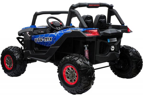 Buggy electric pentru 2 copii Premier 4x4 Superstar, MP4, cu 2 baterii, roti cauciuc EVA, scaun piele ecologica 20
