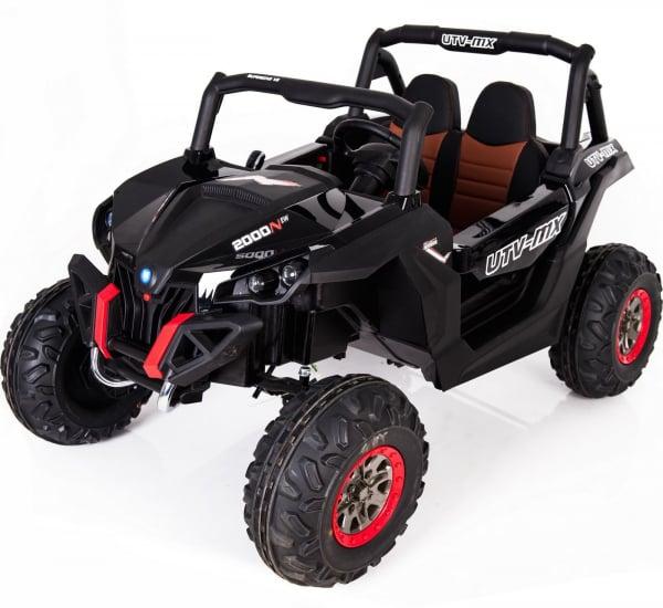 Buggy electric pentru 2 copii Premier 4x4 Superstar, MP4, cu 2 baterii, roti cauciuc EVA, scaun piele ecologica 28