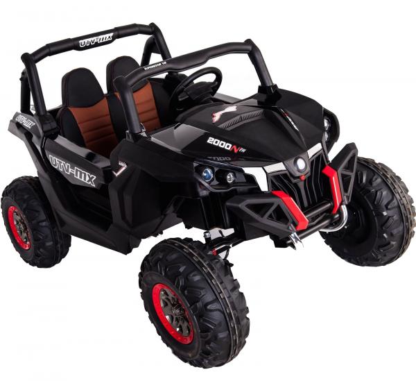 Buggy electric pentru 2 copii Premier 4x4 Superstar, MP4, cu 2 baterii, roti cauciuc EVA, scaun piele ecologica 33