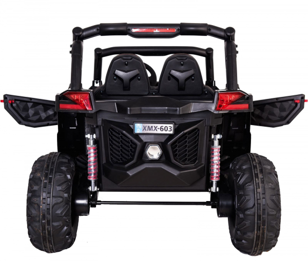 Buggy electric pentru 2 copii Premier 4x4 Superstar, MP4, cu 2 baterii, roti cauciuc EVA, scaun piele ecologica 32