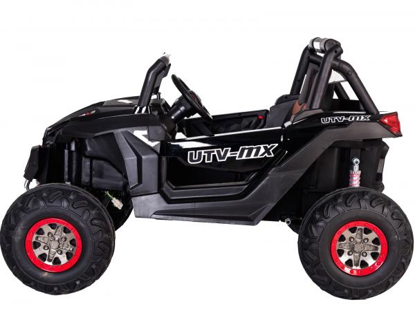 Buggy electric pentru 2 copii Premier 4x4 Superstar, MP4, cu 2 baterii, roti cauciuc EVA, scaun piele ecologica 29