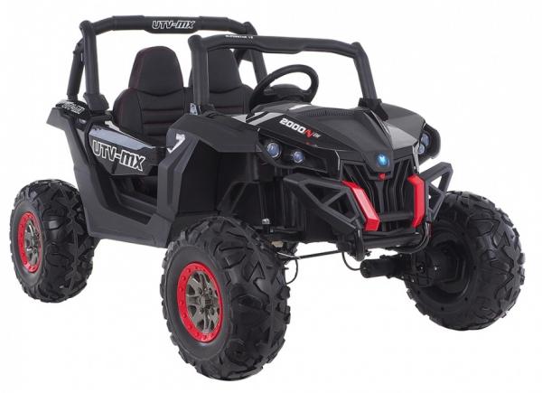 Buggy electric pentru 2 copii Premier 4x4 Superstar, MP4, cu 2 baterii, roti cauciuc EVA, scaun piele ecologica 27