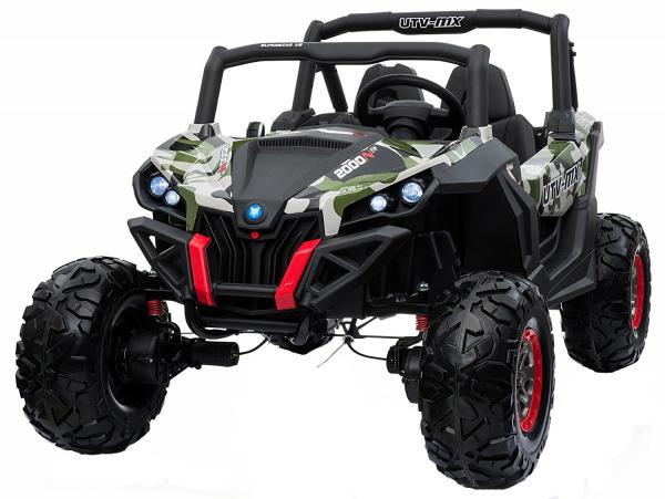 Buggy electric pentru 2 copii Premier 4x4 Superstar, MP4, cu 2 baterii, roti cauciuc EVA, scaun piele ecologica 23