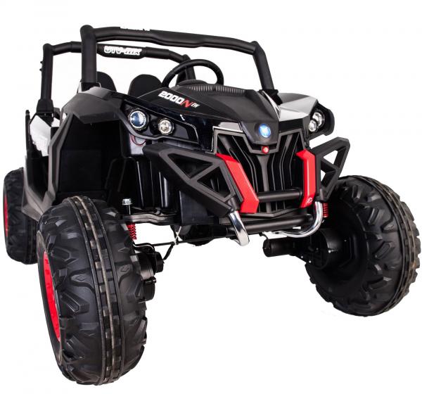 Buggy electric pentru 2 copii Premier 4x4 Superstar, MP4, cu 2 baterii, roti cauciuc EVA, scaun piele ecologica 36