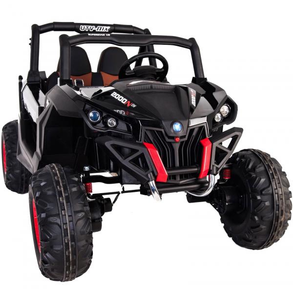 Buggy electric pentru 2 copii Premier 4x4 Superstar, MP4, cu 2 baterii, roti cauciuc EVA, scaun piele ecologica 34