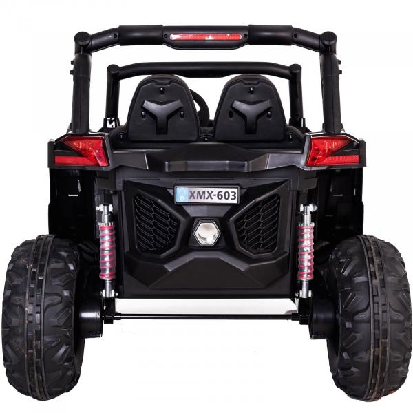 Buggy electric pentru 2 copii Premier 4x4 Superstar, MP4, cu 2 baterii, roti cauciuc EVA, scaun piele ecologica 31