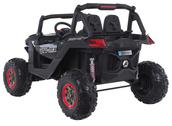 Buggy electric pentru 2 copii Premier 4x4 Superstar, MP4, cu 2 baterii, roti cauciuc EVA, scaun piele ecologica 26