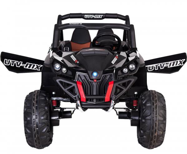Buggy electric pentru 2 copii Premier 4x4 Superstar, MP4, cu 2 baterii, roti cauciuc EVA, scaun piele ecologica 38