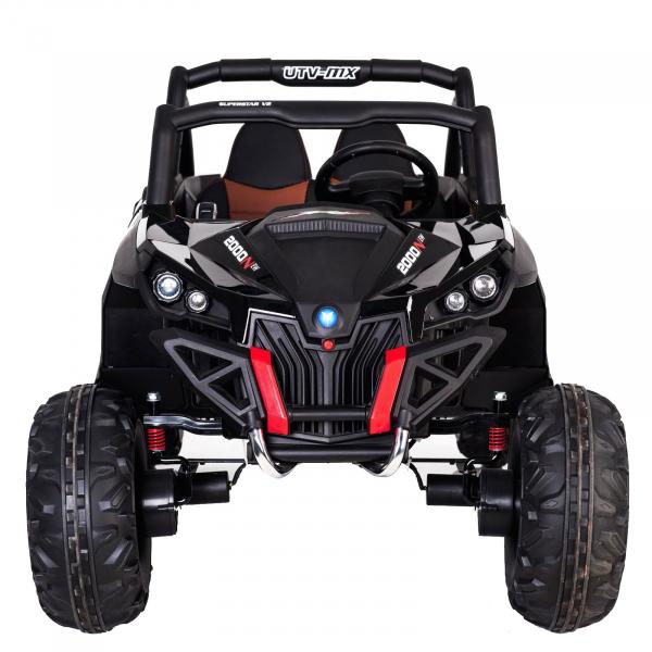 Buggy electric pentru 2 copii Premier 4x4 Superstar, MP4, cu 2 baterii, roti cauciuc EVA, scaun piele ecologica 37